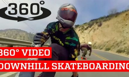 360° Video Downhill Skateboarding VR | PEOPLE ARE AWESOME