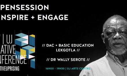 Dr Serote to speak at #CreativeUprising