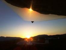 Sunset unterm Arcus