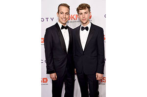Peter Zurkuhlen (L) and Tommy Dorfman from Hit TV show 13 Reasons Why