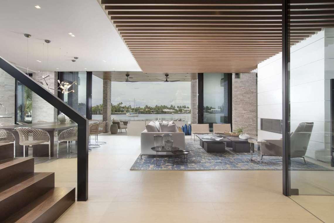 Waterfront Elegance Fort Lauderdale - DKOR Interiors