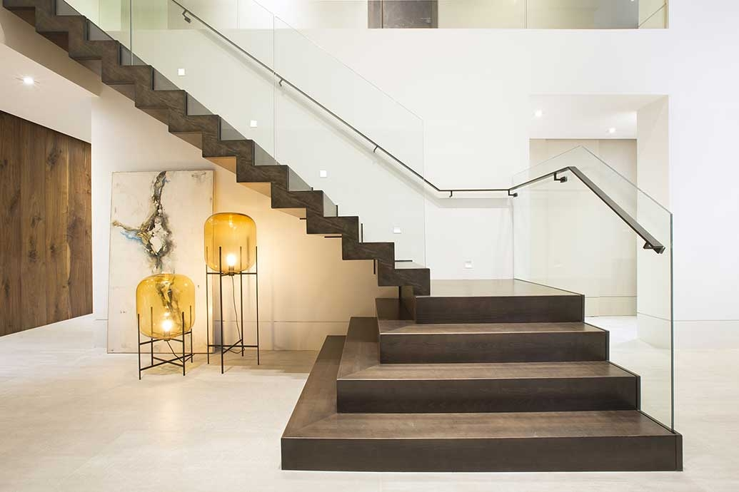 Houzz Tour Inside A Miami Contemporary Home Designed By Dkor Interiors | Stairs Design Inside Home | Traditional | Iron | Amazing | Outside | Short