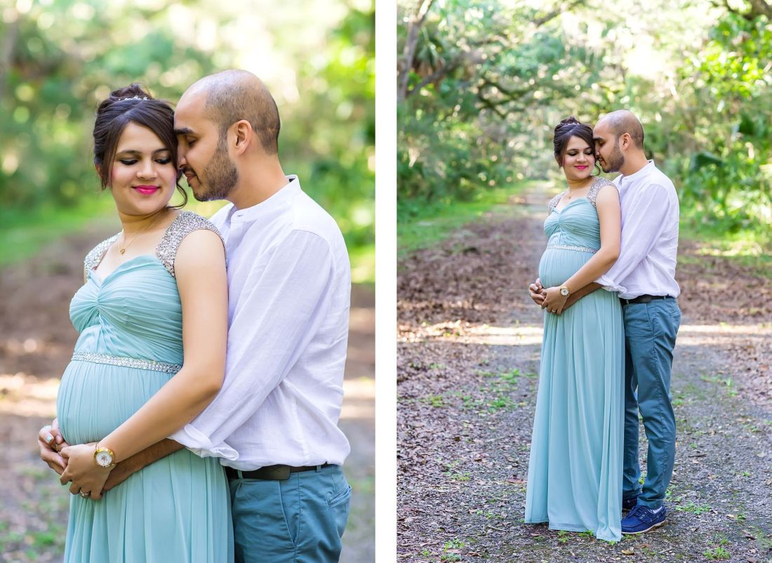 Washington Oaks Gardens State Park Maternity Photographer