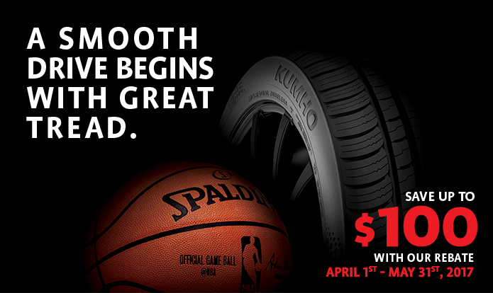 2017 kumho tire rebates