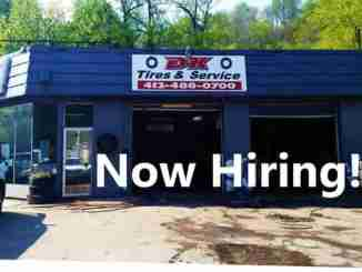 dk tires & service is now hiring