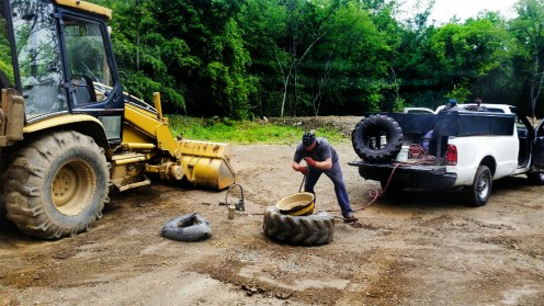 backhoe repair