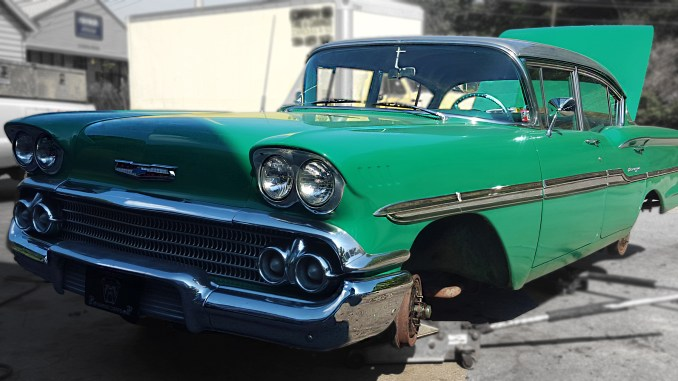 A customer brought in his 1958 Chevrolet Biscayne