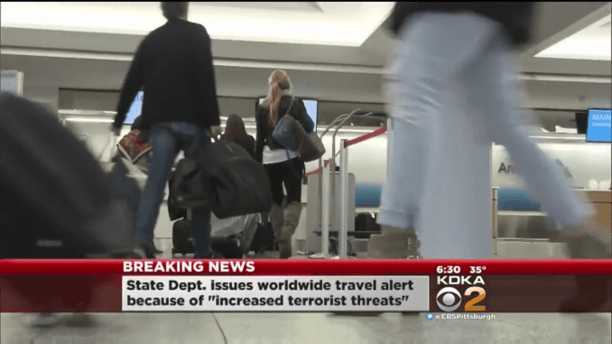 the us department of state has issued a travel warning until 2/24