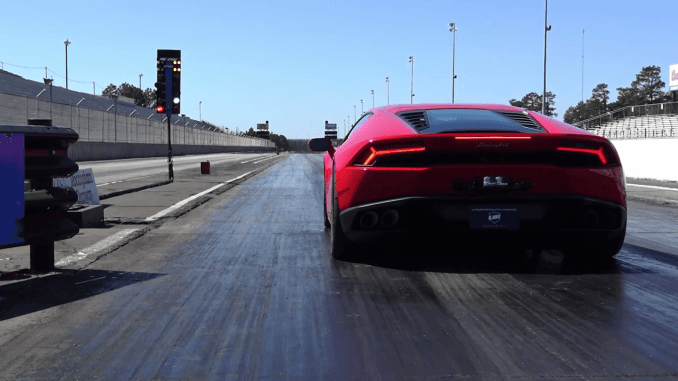 7 second Lamborghini Huracan