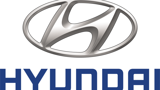 Logo for Hyundai