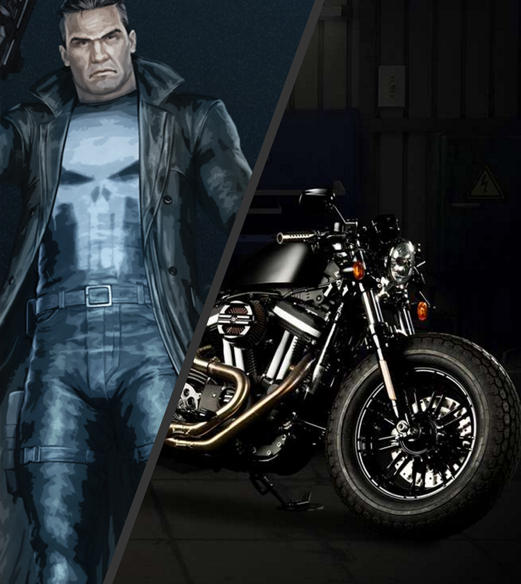 Punisher Forty Eight Justice