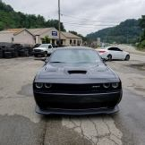 Looking directly at the Hellcat