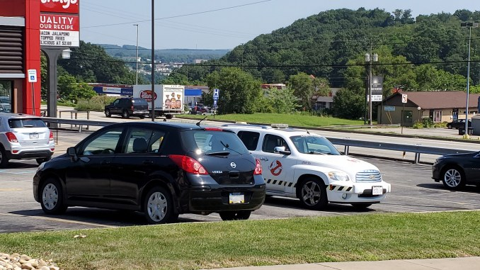 Ecto 1 in Pittsburgh