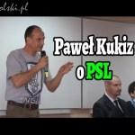 Paweł Kukiz o PSL