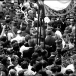 Uroczystości milenijne w Sandomierzu w 1966 r. okiem kamery MSW