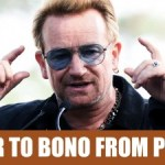 Letter to Bono from hyper-nationalistic Poland