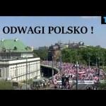 """Marsz """" Odwagi Polsko !"""""""