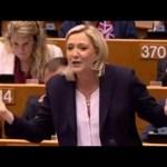 Marine Le Pen masakruje UE po referendum ws. Brexitu