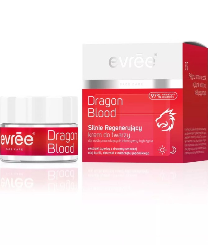 EVREE_Dragon Blood-krem-do-twarzy -SET