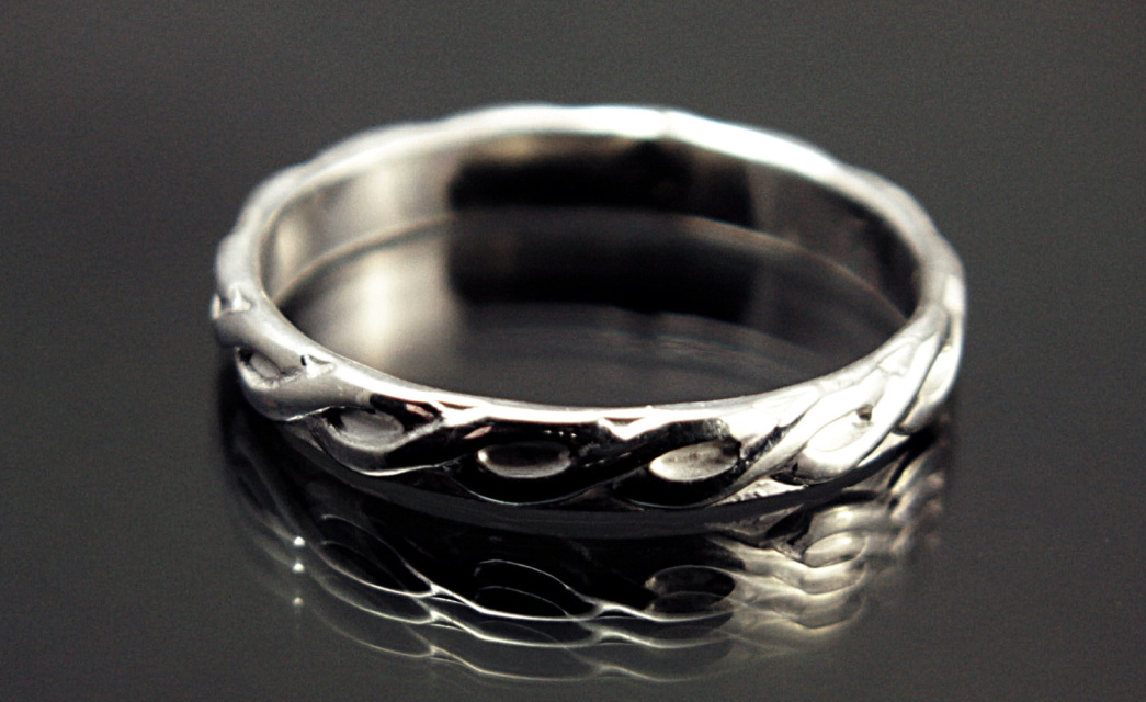 Sterling Silver Rings And Wedding Bands