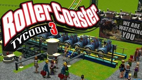 Image result for rollercoaster tycoon 3