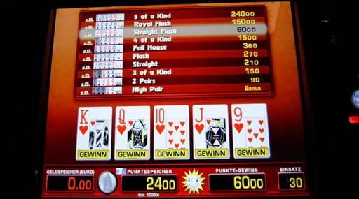 オンラインカジノのビデオポーカーの概要