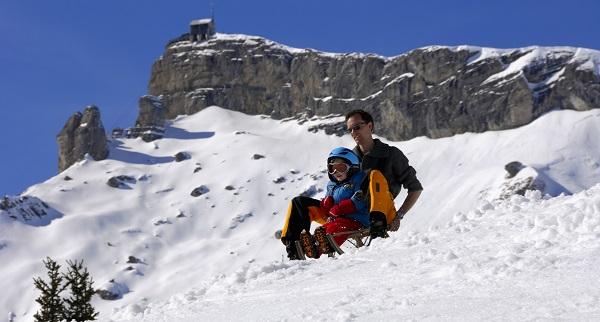 التزلج في سويسرا