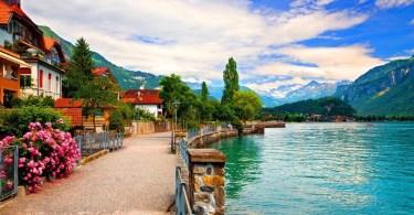 بحيرات سويسرا