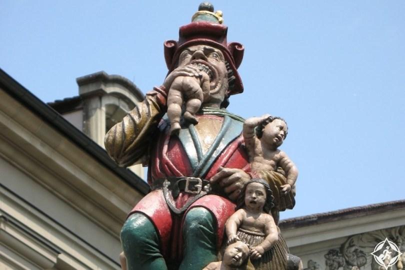 تمثال برن الشهير
