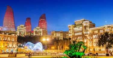 المناطق السياحية في اذربيجان