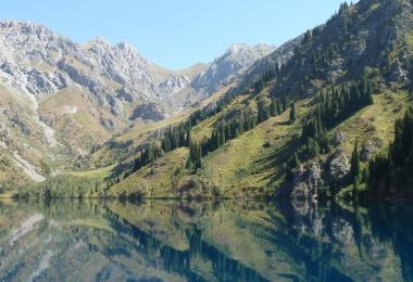 اين تقع قرغيزستان ؟