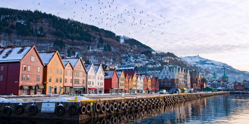 الاماكن السياحية في النرويج
