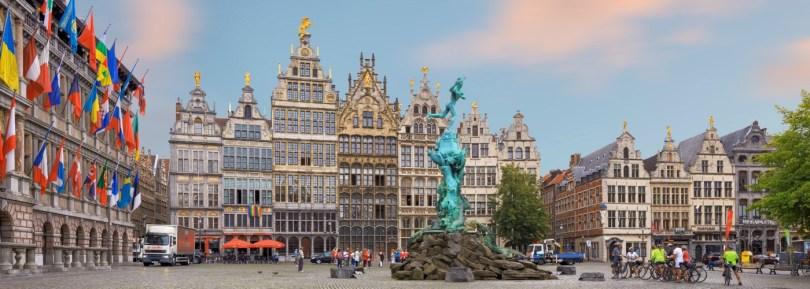 السياحة في أنتويرب بلجيكا