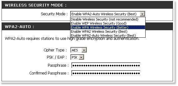 What Security Wep