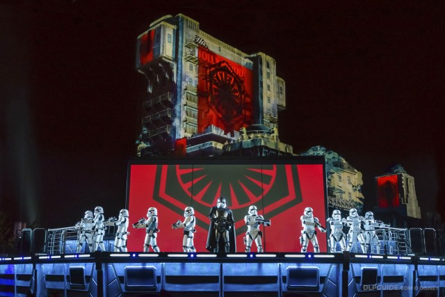 Captain Phasma commands the First Order in The Force Awakens - Star Wars: A Galactic Celebration at Disneyland Paris Season of the Force