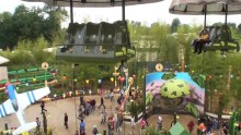 Toy Soldiers Parachute Drop First Ride