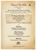 Captain Jack's - Restaurant des Pirates menu