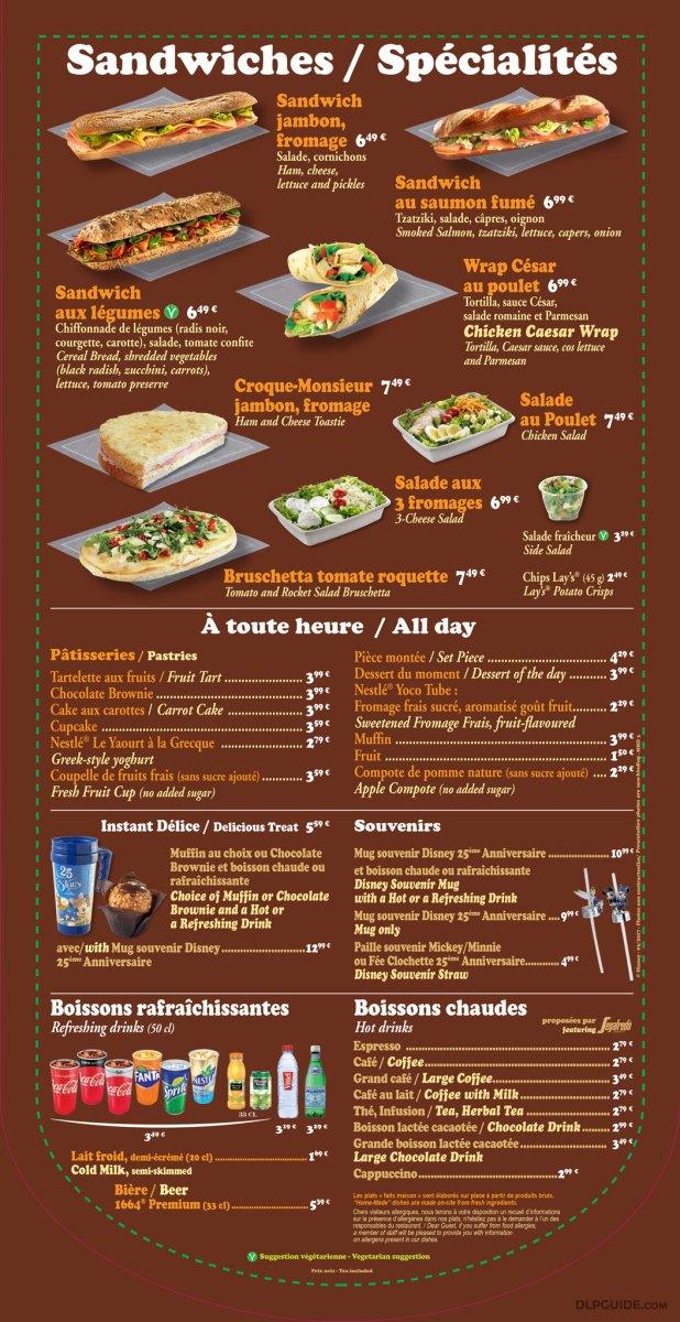 Market House Deli menu
