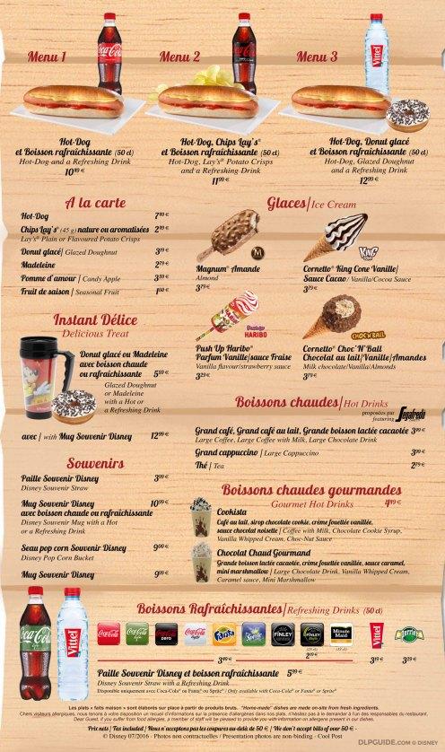 Coolpost menu