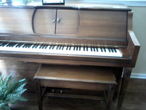 Beautiful Player piano