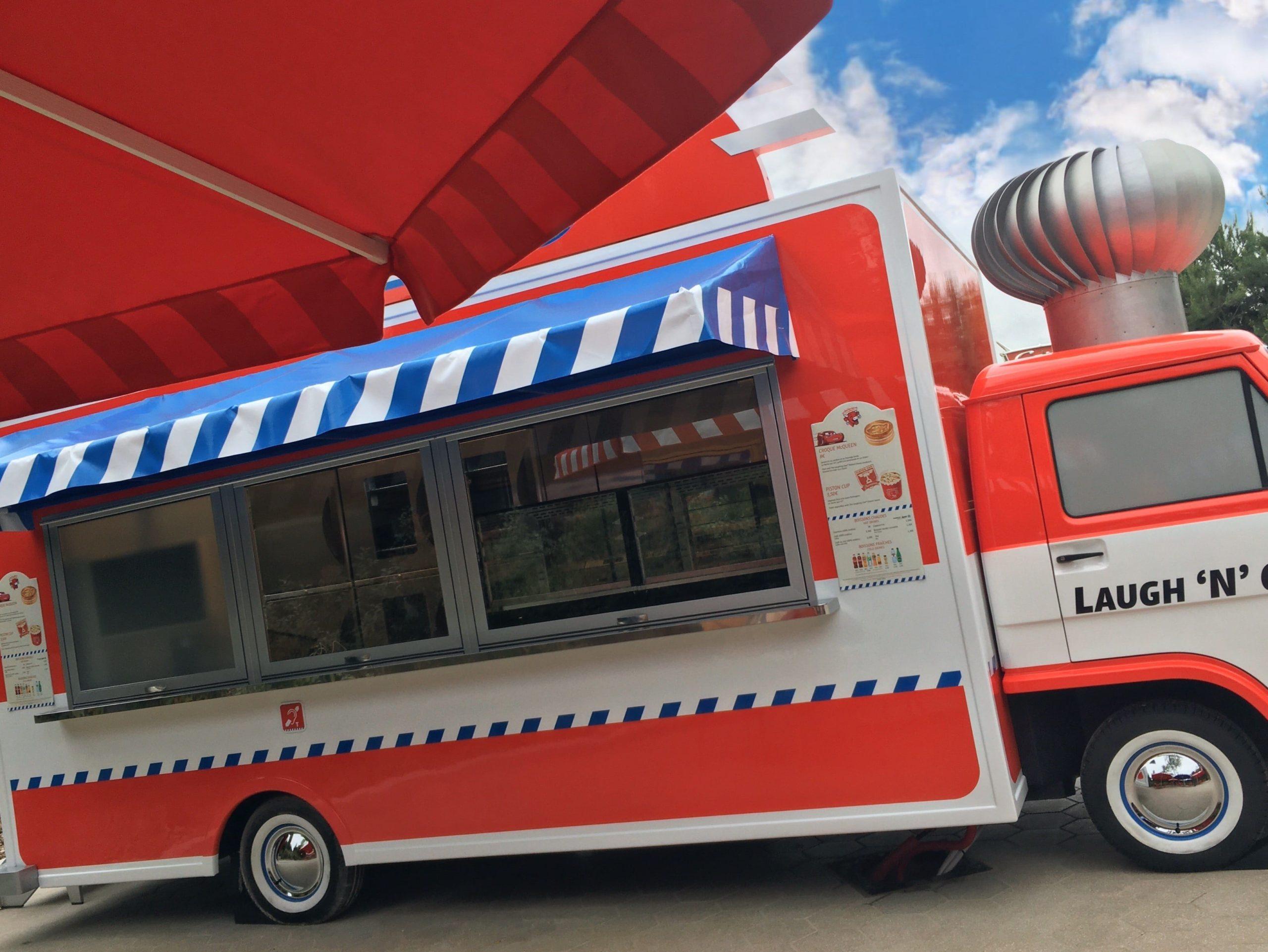 Cars Laugh 'n Go Food Truck in the Walt Disney Studios Park at Disneyland Paris