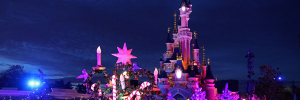 Christmas Winter Season at Disneyland Paris