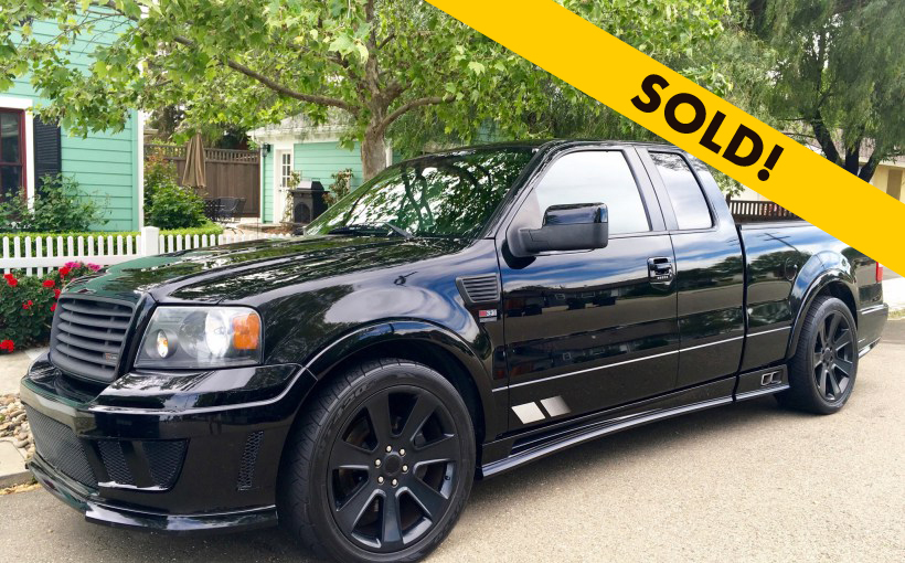 darth vader saleen ford f150 s331 sc for sale the dealership crowning achievements on the. Black Bedroom Furniture Sets. Home Design Ideas