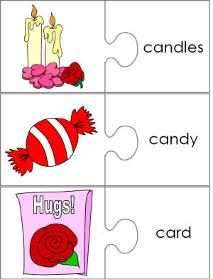 Word Matching Worksheets