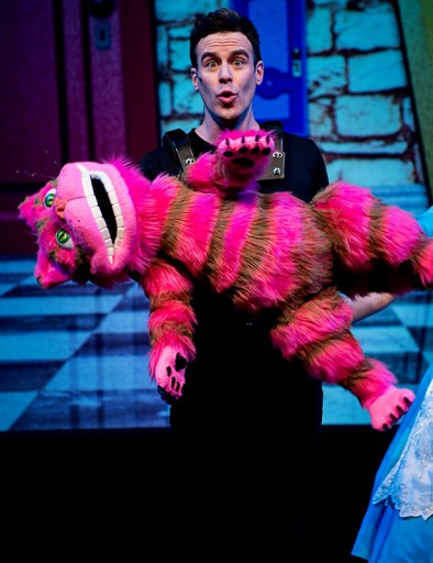 DLUX Ent Derek Cheshire Cat and Alice