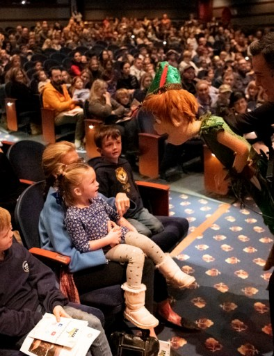 DLUX Ent Peter Pan in Audience