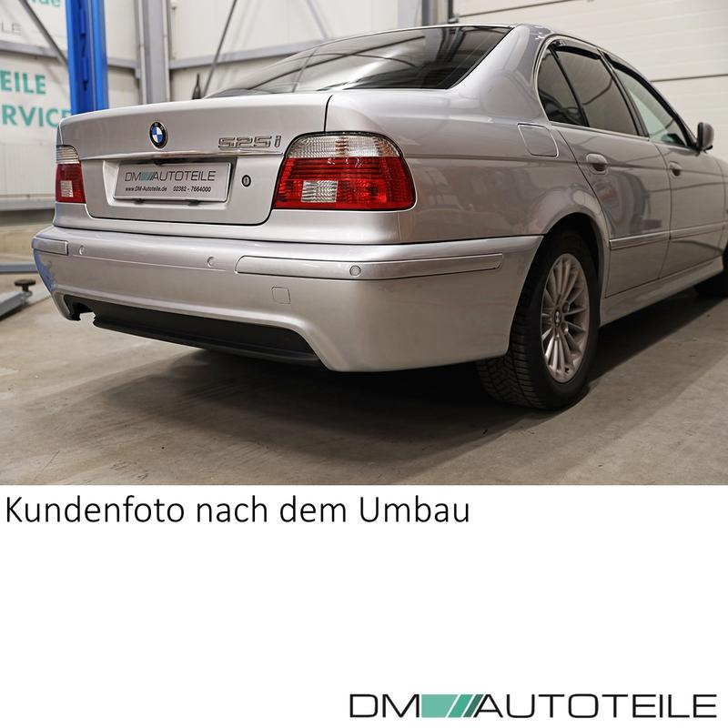 sport rear diffusor black fit for bmw e39 m sport bumper saloon estate 520 540i