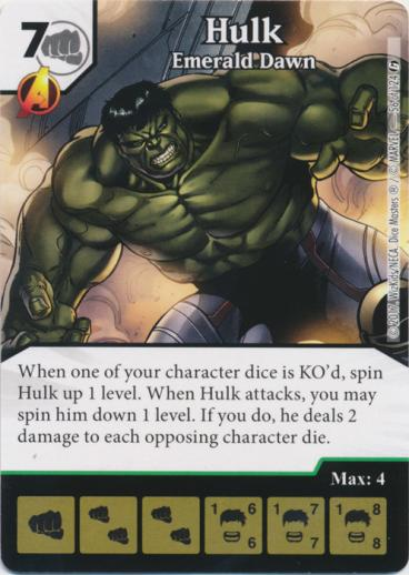 Hulk Breath – Dice Masters North
