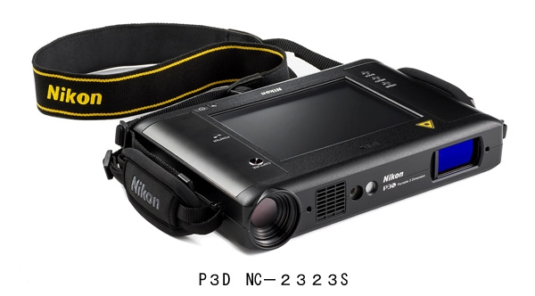 操作性・携帯性を重視したポータブル型3D形状計測装置「P3D NC-2323S」