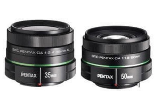 Pentax DA35mm F2.4 AL + DA 50mm F1.8
